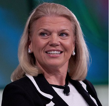 IBM CEO Rometty about blockchain